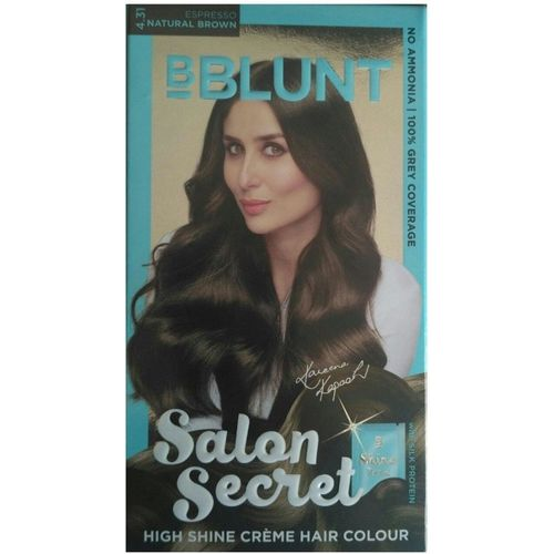 BBlunt SALON SECRET (ESPRESSO) 4.31 NATURAL BROWN Hair Color(NATURAL BROWN)