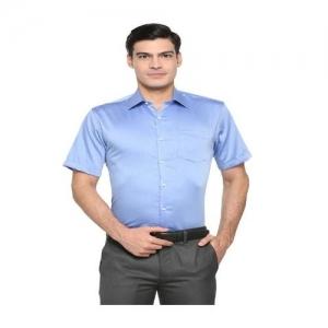 bd07dd38 Buy Van Heusen Regular Fit Formal Shirt online | Looksgud.in