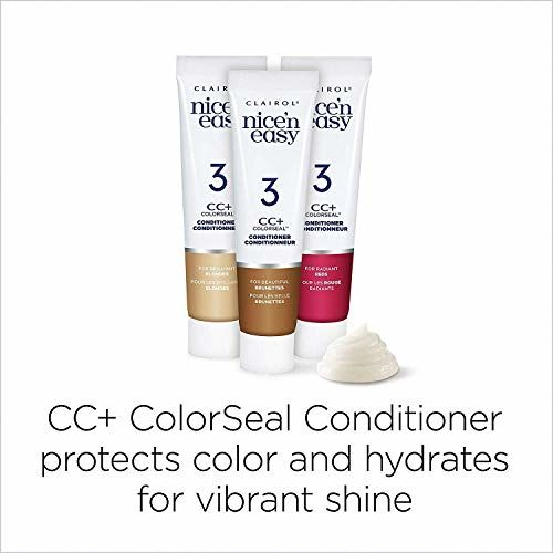 Clairol Nice 'N Easy Hair Color, 111 Natural Medium Auburn (Pack of 3)