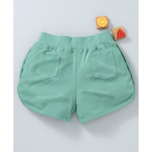 Olio Kids Shorts With Drawstring - Green