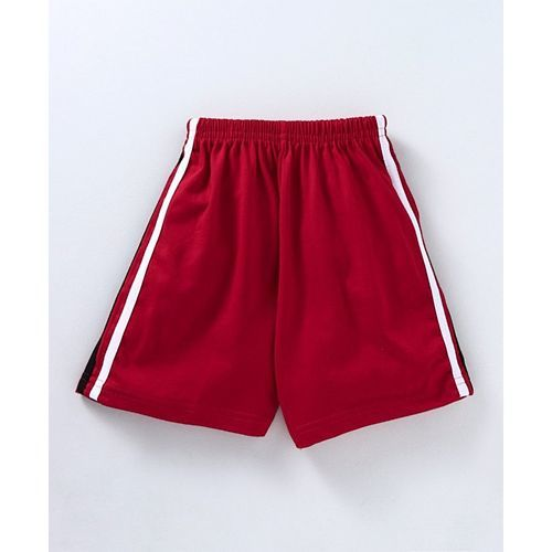 Fido Solid Colour Shorts - Red