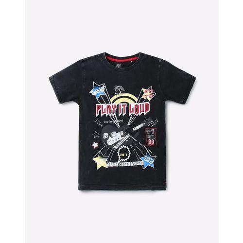 KB TEAM SPIRIT Graphic Print Crew-Neck T-shirt