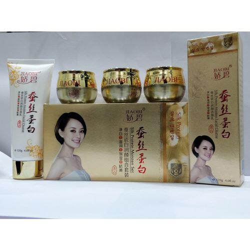 Jiaobi Rebirth Whitening & Smoothing Cream 170 ml(Set of 4)