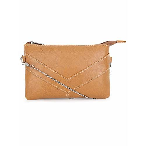Bagsy Malone Women's Sling Bag with No (Beige)