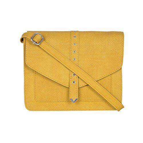 Bagsy Malone Women's Sling Bag with No (Yellow)