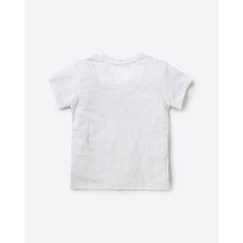KIDSVILLE Captain America Print Crew-Neck T-shirt
