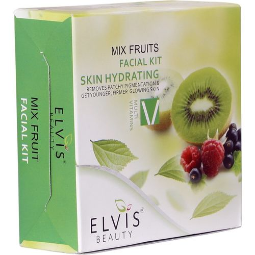 ELVIS BEAUTY Mix Fruits Facial Kit Skin Hydrating 200 g(Set of 4)