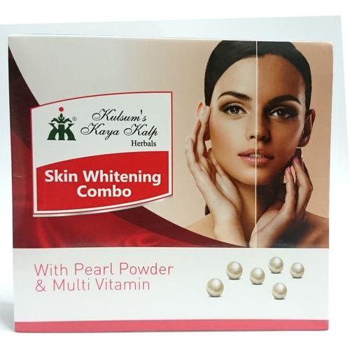 Kulsum's Kaya Kalp Skin Whitening Combo 175 g(Set of 2)