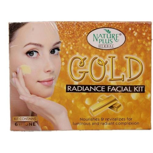 NATURE PLUS GOLD RADIANCE FACIAL KIT 330 g(Set of 6)