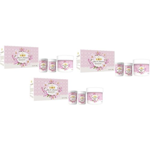 Richfeel Lily and Jasmine Bleach kit 28g (2 +1) 105 g(Set of 3)