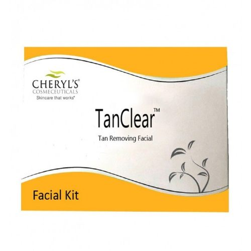 Cheryl's Tan Clear TAN REMOVING Facial Kit (3 Pack of 18 Sachets) 45 g(Set of 3)