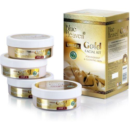 Blue Heaven Gold Facial Kit 850 ML 850 ml(Set of 4)