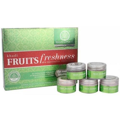 Khadi Natural Fruit Freshness Mini Facial Kit 75 g