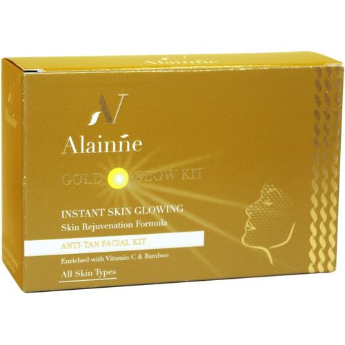 alainne Golden Glow Facial Kit 50G 50 g