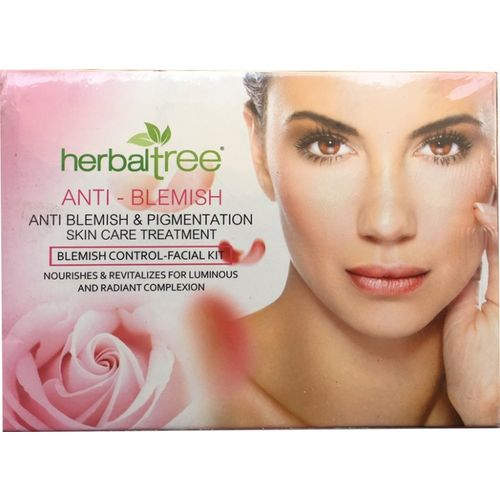 Herbal Tree ANTI BLEMISH (Blemish Control) facial kit pack of 2 840 g(Set of 2)