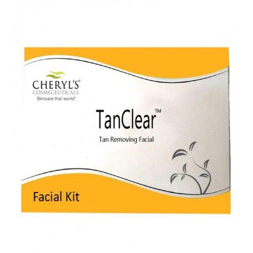 Cheryl's Tan Clear TAN REMOVING Facial Kit (Set of 12 Sachets) 50 g(Set of 2)