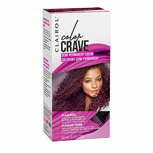 Flamingo: Clairol Color Crave Semi-permanent Hair Color, Flamingo