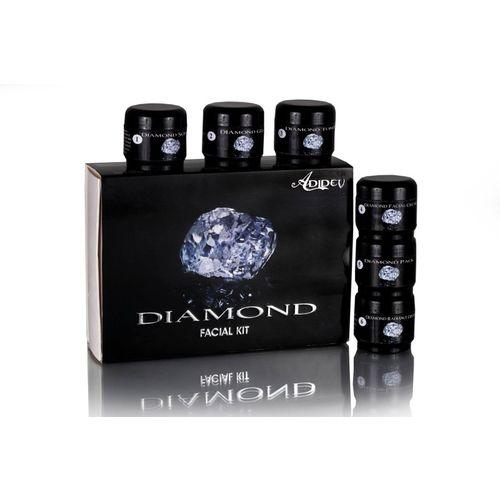 Adidev Herbals Polishing & Insta Glow Diamond Facial Kit 250 g