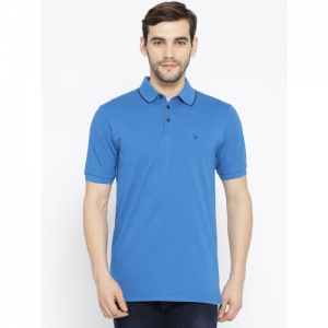8557fa0d5 Buy latest Men s Polo T-shirts from Allen Solly online in India ...