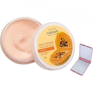 Avon Anew PAPAYA BRIGHTENING SMOOTHIES FACE MASK WITH ALICE MIRROR(75 g)