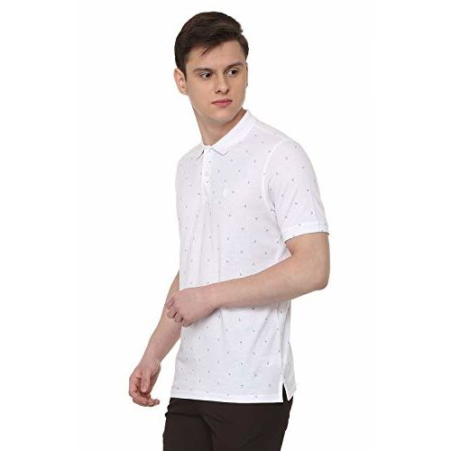 Allen Solly Men's Striped Regular fit T-Shirt