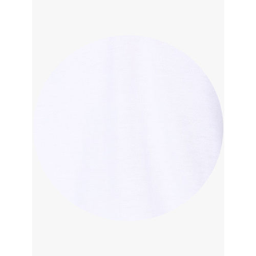 Calvin Klein White Solid Slim Fit Polo T-Shirt