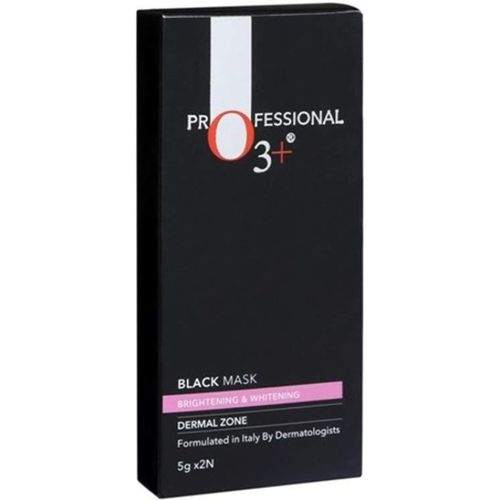 O3+ Brightening Black Mask for Instant Skin Whitening and Purifying Suitable for All Skin Types (5g x 2)(10 g)