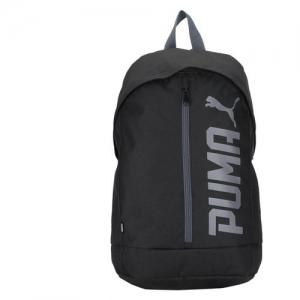 Puma Black Unisex Solid Laptop Backpack