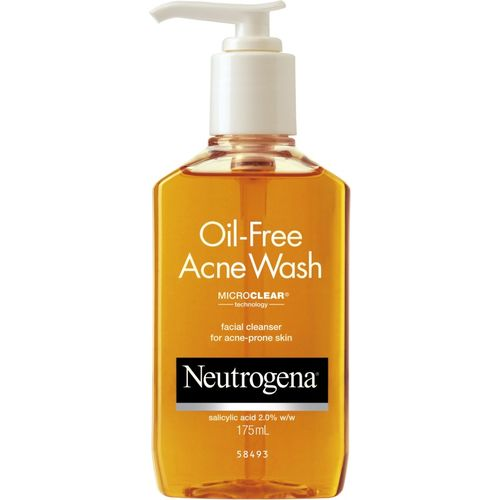 Neutrogena Oil-Free Acne Face Wash(175 ml)