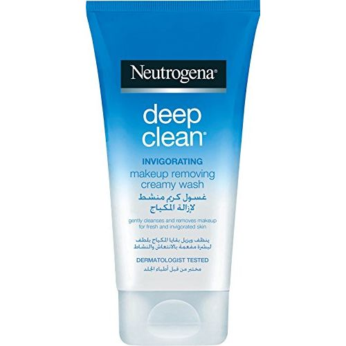Neutrogena deep Clean Invigorating Makeup Removing Creamy Wash150ml