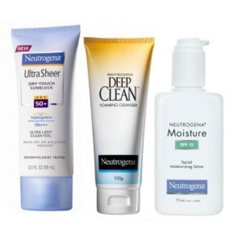 Neutrogena Oily Skin Protection Regime with Travel Pouch