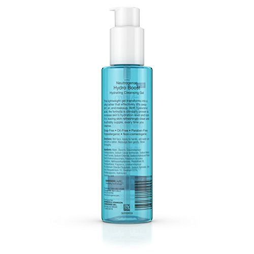 Neutrogena Hydro Boost Hydrating Cleansing Gel, 6 Oz. (pack of 12)