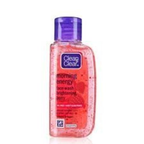 Clean & Clear Morning Energy Face Wash Energizing Berry, Oil Free, Won't Clog Pores 100 Ml
