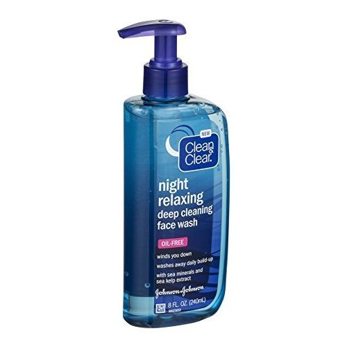 Clean & Clear Night Relaxing Deep Cleaning Oil-Free Face Wash