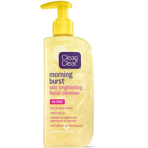 2 Pack - CLEAN & CLEAR Morning Burst Skin Brightening Facial Cleanser 8 oz