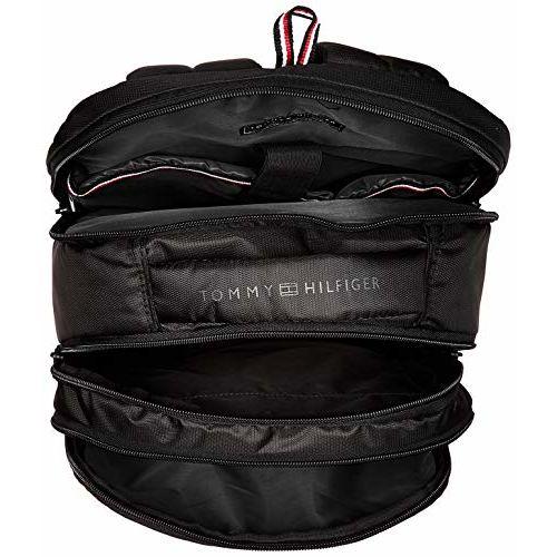 Tommy Hilfiger Alps 29 Ltrs Black Laptop Backpack (TH/ALPSLAP01)