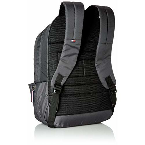 Tommy Hilfiger Grey Abby 27 Ltrs Dark Laptop Backpack