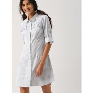 fe92c9f787d Buy Alia Bhatt For Jabong Hot Denim Blue Shirt Dress online ...