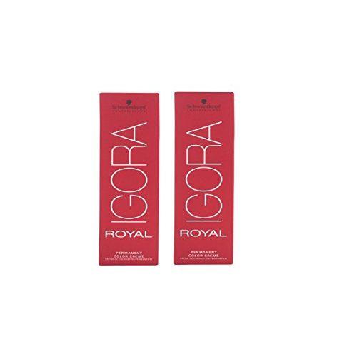 Schwarzkopf Igora Hair Color Tube No. 3-0 Dark Brown (2 Tube) 60 ml Each with 1 Developer 1000 ml