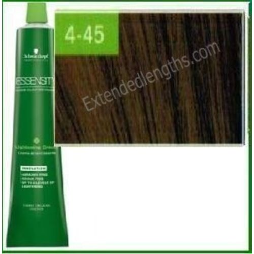 Schwarzkopf Essensity Permanent Hair Color 4 45 Medium Beige Gold Brown