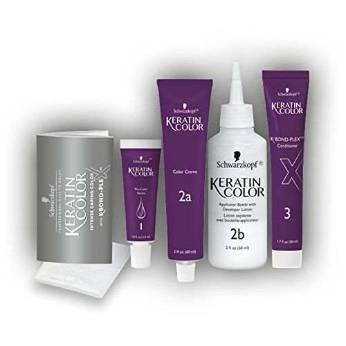 Schwarzkopf Keratin Hair Color, Intense Cocoa 4.6, 2.03 Ounce
