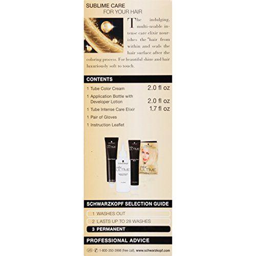 Schwarzkopf Ultime Hair Color Cream, 7.0 Dark Blonde, 2.03 Ounce