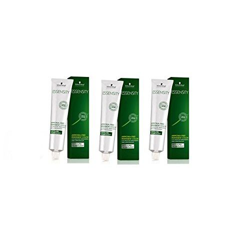 Schwarzkopf Essensity Hair Color Tube No. 6-99 Dark blonde Violet Extra 60 mL each (3 tube) + 1 Essensity Oil Developer 1000 ml