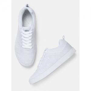 HRX by Hrithik Roshan Men Off-White Sneakers