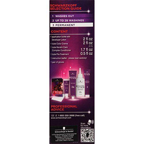 Schwarzkopf Keratin Color Anti-Age Hair Color Kit, 7.5 Caramel Blonde (Pack of 2)