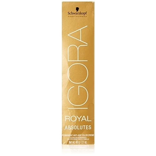 Schwarzkopf Professional Igora Royal Absolutes Hair Color - 6-70 Dark Blonde Copper Natural