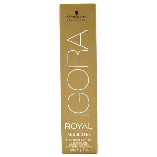 Schwarzkopf Professional Igora Royal Absolutes Hair Color - 6-80 - Dark Blonde Red Natural