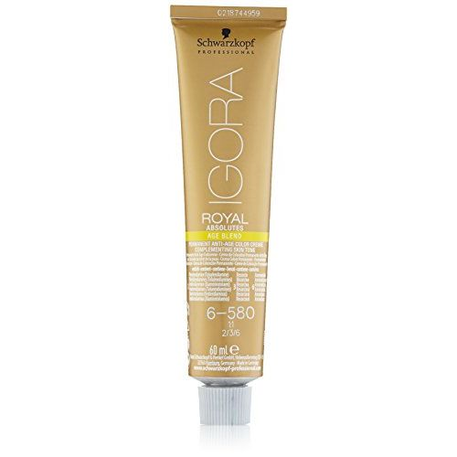 Schwarzkopf Igora Royal Absolutes 6-580 Anti-Age Color Creme 60ml