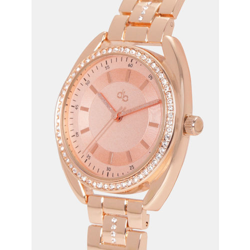 DressBerry Women Rose Gold Analogue Watch MFB-PN-WTH