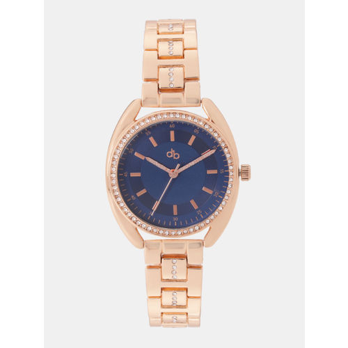 DressBerry Women Navy Blue Analogue Watch MFB-PN-WTH